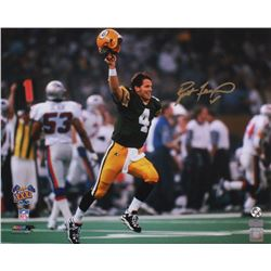 Brett Favre Signed Packers 16x20 Photo (Radtke Hologram  Favre Hologram)