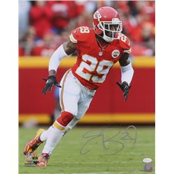 Eric Berry Signed Chiefs 16x20 Photo (JSA COA)
