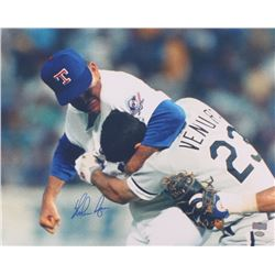 Nolan Ryan Signed Rangers 16x20 Photo (Radtke Hologram  Ryan Hologram)
