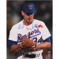 "Nolan Ryan  Bo Jackson Signed ""Nolan Knows Bo"" Rangers 16x20 Photo (Radtke Hologram, Jackson Hologra"