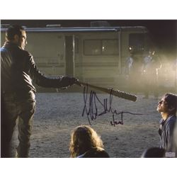 "Jeffrey Dean Morgan Signed ""The Walking Dead"" 16x20 Photo Inscribed ""Negan"" (Radtke Hologram)"
