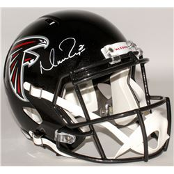 Matt Ryan Signed Falcons Full-Size Speed Helmet (Fanatics Hologram)