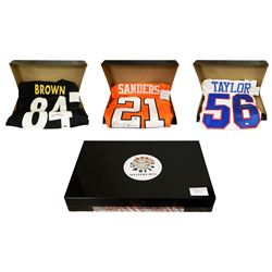 Schwartz Sports Football Superstar Signed Mystery Box Football Jersey Series 2 - (Limited to 100)