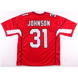David Johnson Signed Cardinals Jersey (JSA COA)