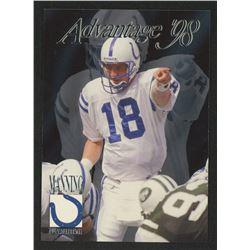 1998 Collector's Edge Advantage #189 Peyton Manning RC