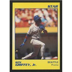 1990 Star Griffey Jr. #NNO Ken Griffey, Jr. Blank Back