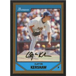 2007 Bowman Draft Future's Game Prospects Gold #BDPP77 Clayton Kershaw