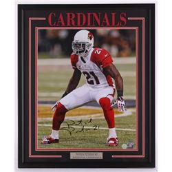 Patrick Peterson Signed Cardinals 21.5x25.5 Custom Framed Photo Display (GTSM Peterson Hologram)