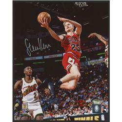 Steve Kerr Signed Bulls 8x10 Photo (Schwartz COA)