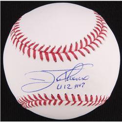 """Jim Thome Signed OML Baseball Inscribed """"612 HR"""" (Beckett COA)"""