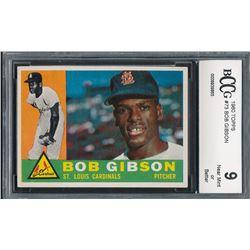 1960 Topps #73 Bob Gibson (BCCG 9)