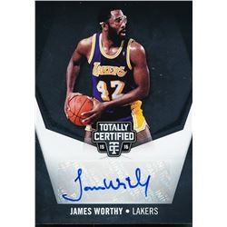 2015-16 Totally Certified Signatures #TCJW James Worthy #09/25