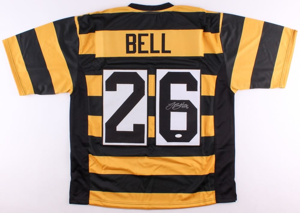 97d5dd5733b Image 1   Le'Veon Bell Signed Steelers Throwback Jersey (JSA COA)