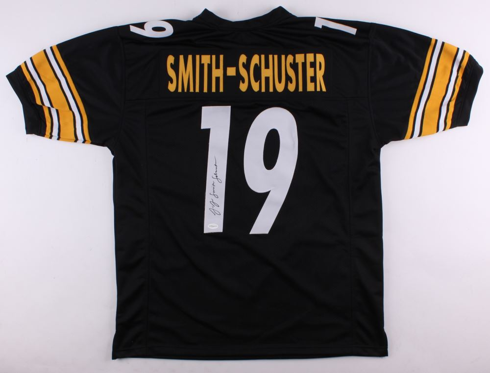 brand new 19b88 71b98 JuJu Smith-Schuster Signed Steelers Jersey (TSE Hologram)