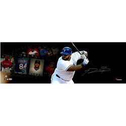 Prince Fielder Signed Rangers 10x30 Filmstrip Photo (MLB  Fanatics Hologram)