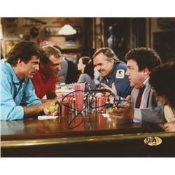 "George Wendt Signed ""Cheers"" 8x10 Photo (MAB Hologram)"