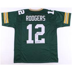"Aaron Rodgers Signed Packers Jersey Inscribed ""XLV MVP"" (Steiner Hologram)"