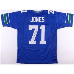 "Walter Jones Signed Seahawks Jersey Inscribed ""HOF '14"" (JSA COA)"