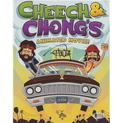 "Tommy Chong Signed ""Cheech  Chong's Animated Movie"" 8x10 Photo (Beckett COA)"