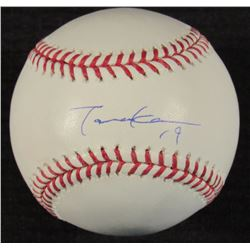 Masahiro Tanaka Signed OML Baseball (MLB Hologram)