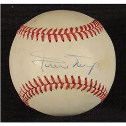 Willie Mays Signed ONL Baseball (PSA Hologram)