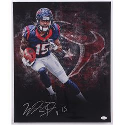 Will Fuller Signed Texans 16x20 Photo (JSA COA)