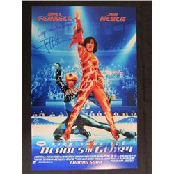 """Will Ferrell  Jon Heder Signed """"Blades of Glory"""" 11x17 Photo Inscribed """"Capture the Dream"""" (PSA Holo"""
