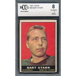 1961 Topps #39 Bart Starr (BCCG 8)