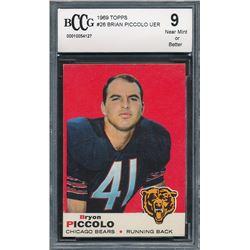 1969 Topps #26 Brian Piccolo RC (BCCG 9)