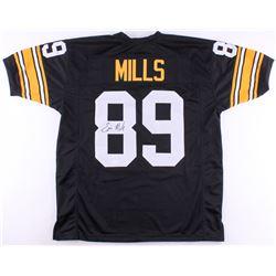 Ernie Mills Signed Steelers Jersey (TSE COA)