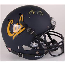 Aaron Rodgers Signed California Golden Bears Full-Size Helmet (Steiner Hologram)