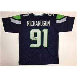 Sheldon Richardson Signed Seahawks Jersey (JSA COA)