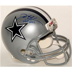 Deion Sanders Signed Cowboys Full-Size Helmet Inscribed  HOF 2011  (Sanders Hologram)