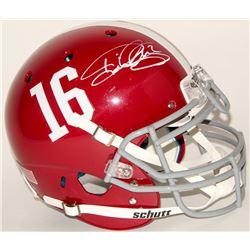 Derrick Henry Signed Alabama Crimson Tide Full-Size Authentic On-Field Helmet (Henry Hologram)
