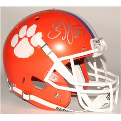 Brian Dawkins Signed Clemson Tigers Full-Size Helmet (JSA COA)