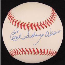 Earl Weaver Signed OAL Baseball (SOP COA)