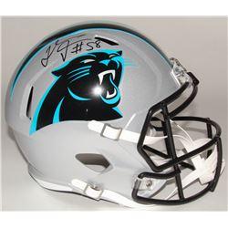Thomas Davis Signed Panthers Full-Size Speed Helmet (Radtke COA)