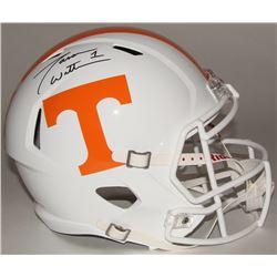 Jason Witten Signed Tennessee Volunteers Full-Size Speed Helmet (JSA COA  Witten Hologram)