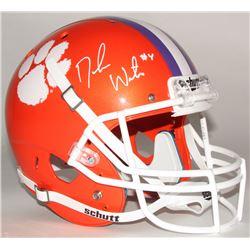 Deshaun Watson Signed Clemson Tigers Full-Size Helmet (Radtke COA)