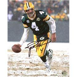 Brett Favre Signed Packers 8x10 Photo (Favre COA)
