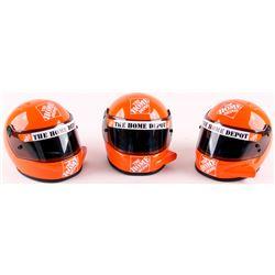 Lot of (3) Tony Stewart NASCAR Racing Mini Helmets
