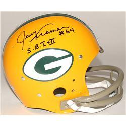 "Paul Hornung Signed Packers Full-Size TK Suspension Helmet Inscribed ""S.B. I + II"" (Radtke COA)"