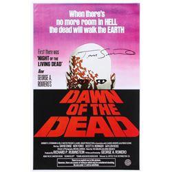 "Tom Savini Signed ""Dawn of the Living Dead"" 11x17 Photo (Legends COA)"
