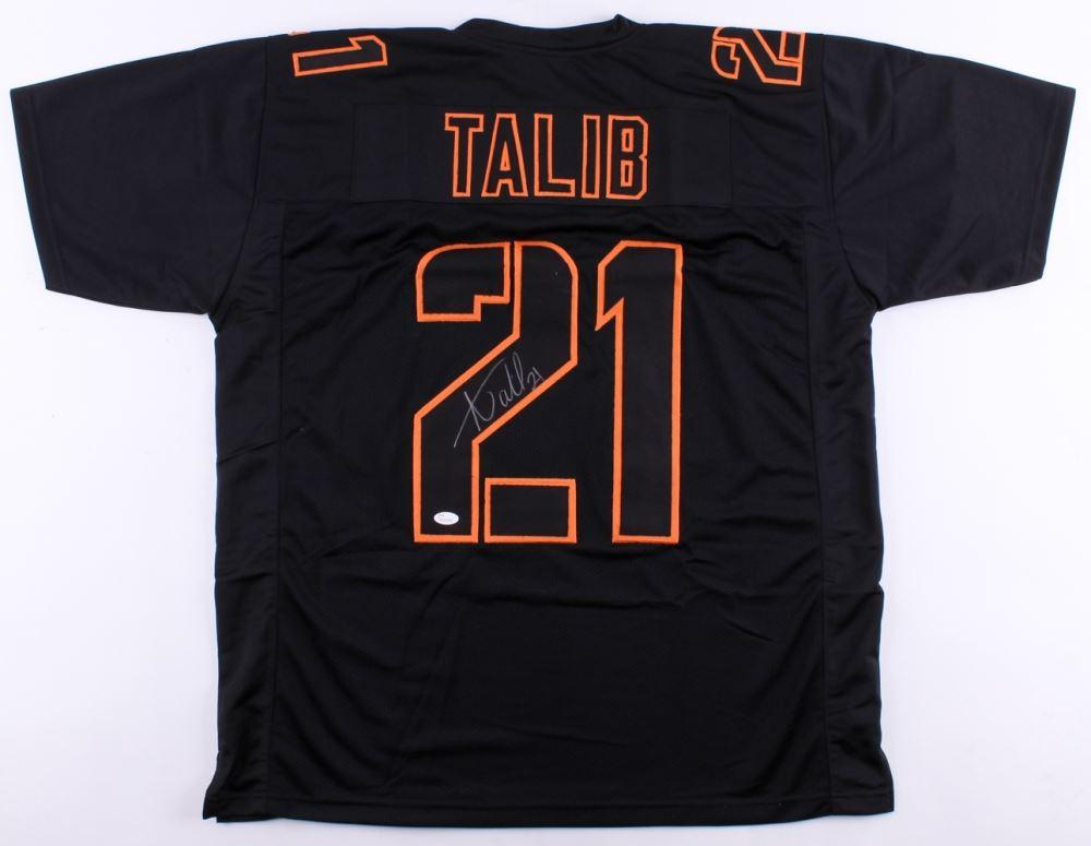 best website e74ff 609b6 Aqib Talib Signed Broncos Jersey (JSA COA)