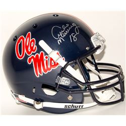 Archie Manning Signed Ole Miss Rebels Full-Size Helmet (Steiner COA)