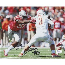 Tyquan Lewis Signed Ohio State Buckeyes 8x10 Photo (JSA COA)