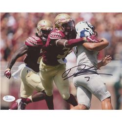 Derwin James Signed Florida State Seminoles 8x10 Photo (JSA COA)