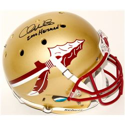 "Chris Weinke Signed Florida State Seminoles Full-Size Authentic On-Field Helmet Inscribed ""2000 Heis"