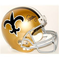 Archie Manning Signed Saints Full-Size Throwback Helmet (Radtke COA)
