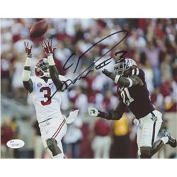 Calvin Ridley Signed Alabama Crimson Tide 8x10 Photo (JSA COA)